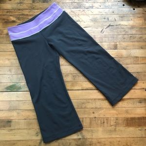 Lululemon Groove Crop Yoga Pants size 6